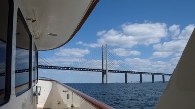 Sailing Under Bridge